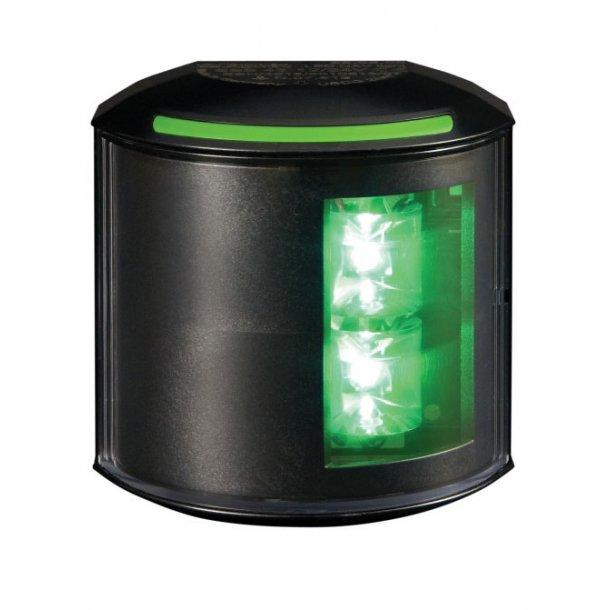 Lanterne Aqua-43 LED styrbord sort