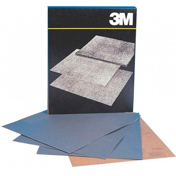 Vådslibepapir 230x280mm korn 320 pr/ark